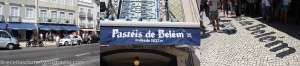 Devant la boutique des Pastéis de Belém