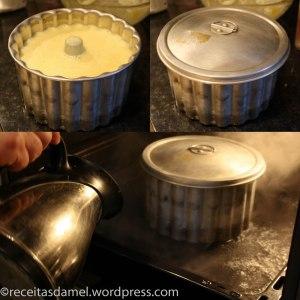 Cuisson du pudding