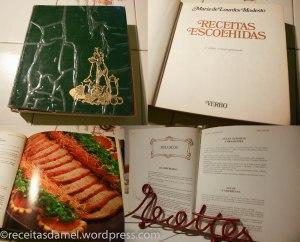 Receitas Escolhidas - Le livre de recette portugais, que dis-je?! La Bible, de ma maman :)